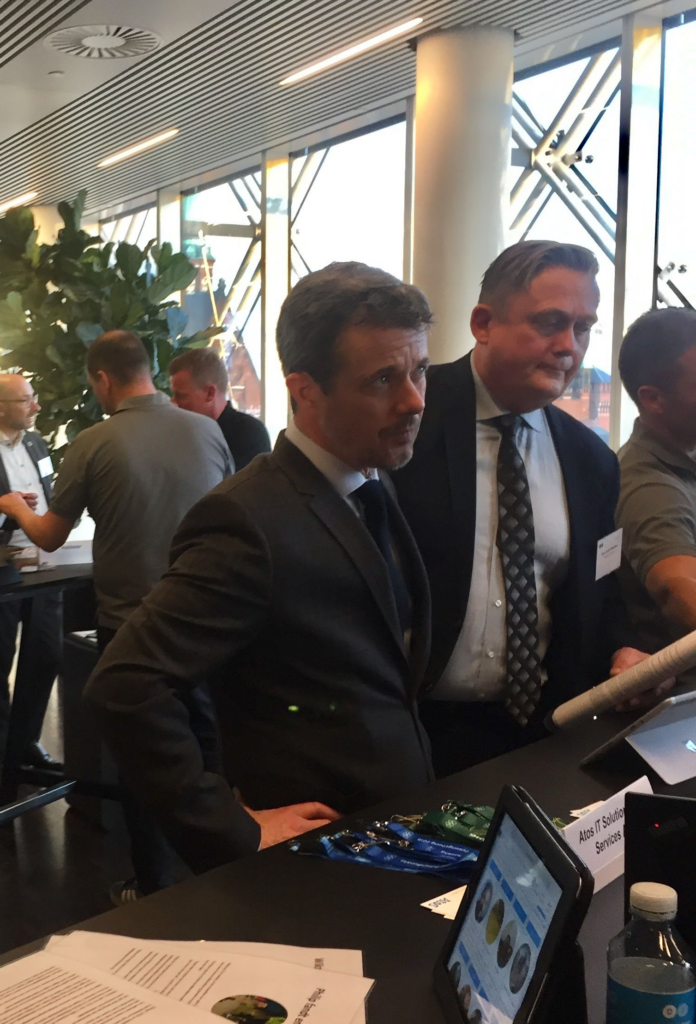 Kronprins Frederik til Sportstech Denmark